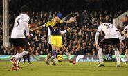 Fulham 1-2 Swansea (Shelvey goal)