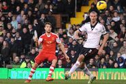 Fulham 0-3 Southampton (Rodriguez goal)