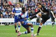 Reading 3-3 Fulham (Ruiz goal)