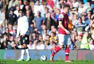 Fulham 0-1 Arsenal (Giroud red)