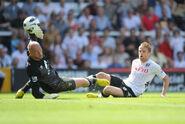 Fulham 5-0 Norwich (Duff goal)