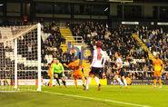 Fulham 3-0 Charlton (Parker goal)