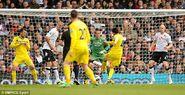 Fulham 2-4 Reading (Karacan goal)