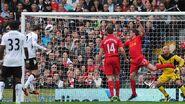 Fulham 1-3 Liverpool (Berbatov goal)