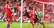 Southampton 2-2 Fulham (Fonte 1st goal)