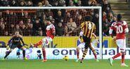 Hull 6-0 Fulham (Huddlestone goal)