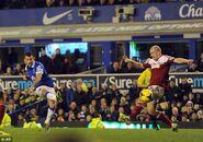 Everton 4-1 Fulham (Mirallas goal)
