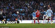Man City 5-0 Fulham (Fernandinho goal)