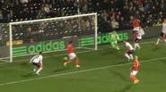 Fulham 2-2 Blackpool (Murphy goal)