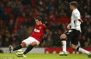 Man Utd 4-1 Fulham (Hernandez 2nd goal)