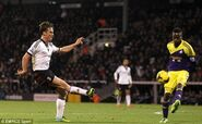 Fulham 1-2 Swansea (Parker goal)