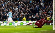 Man City 2-0 Fulham (Silva 2nd goal)
