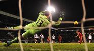 Fulham 2-3 Liverpool (Gerrard goal)