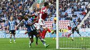 Wigan 3-3 Fulham (Ruiz 1st goal)