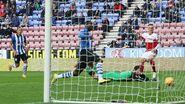 Wigan 3-3 Fulham (Christensen goal)