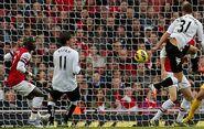 Arsenal 3-3 Fulham (Kačaniklić goal)