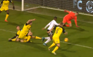 Fulham 6-0 Burton (Sessegnon 2nd goal)