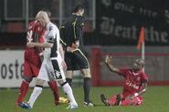 FC Twente 1-0 Fulham (Johnson red)