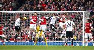 Arsenal 3-3 Fulham (Berbatov 1st goal)