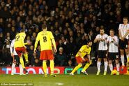 Fulham 0-5 Watford (Abdi goal)