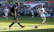 Swansea 0-3 Fulham (Berbatov goal)