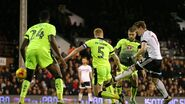 Fulham 5-0 Reading (Johansen goal)