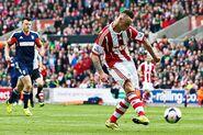 Stoke 4-1 Fulham (Arnautović goal)