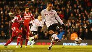 Fulham 3-2 QPR (Berbatov 1st goal)