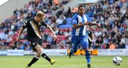 Wigan 1-2 Fulham (Duff goal)