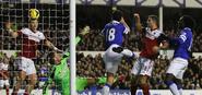 Everton 4-1 Fulham (Barry goal)