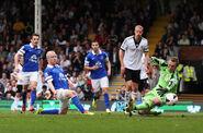 Fulham 1-3 Everton (Naismith goal)