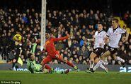 Fulham 2-3 Liverpool (Sturridge goal)