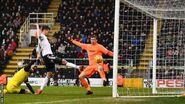 Fulham 6-0 Burton (Fonte 2nd goal)