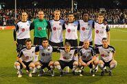 Fulham 4-1 Juventus (Squad photo)