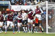 Aston Villa 1-1 Fulham (Delph own goal)