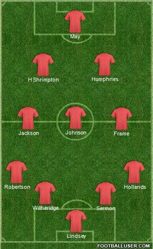 Fulham 0-8 Stanley (Lineups)