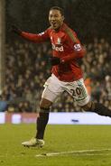 Fulham 1-2 Swansea (de Guzmán goal)