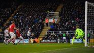 Fulham 2-0 Barnsley (Malone goal)