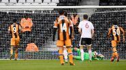 Fulham 4-1 Hull (Hernández miss)