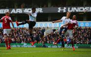 Tottenham 3-1 Fulham (Kane goal)