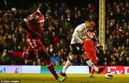 Fulham 3-2 QPR (Berbatov 2nd goal)