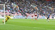 Wigan 3-3 Fulham (Forshaw goal)
