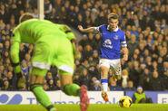 Everton 4-1 Fulham (Coleman goal)