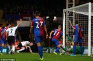 Crystal Palace 1-4 Fulham (Senderos goal)