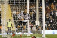 Fulham 2-1 Everton (Berbatov goal)