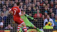 Fulham 0-3 Southampton (Lambert goal)
