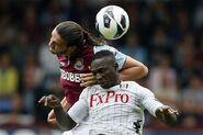 West Ham 3-0 Fulham (Carroll & Diarra)