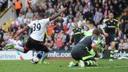 Fulham 1-0 Stoke (Bent goal)