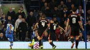 Brighton 1-2 Fulham (Bent goal)