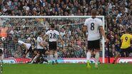 Fulham 1-3 Arsenal (Podolski 1st goal)